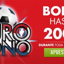 Bono especial para la Eurocopa con Sportim hasta 200€